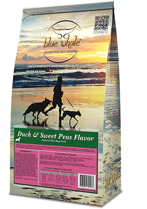Duck & Sweet Peas Flavor.Natural Dry Dog Food
